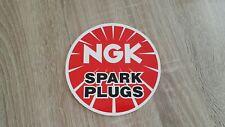 NGK SPARK PLUGS  NOS vintage sticker NSR Adesivo KAWASAKI HONDA YAMAHA TZ RS
