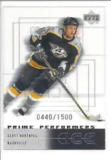 SCOTT HARTNELL 2000-01 Upper Deck Ice Rookie Card RC x/1500 #92