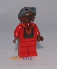 Lego Custom Black Naboo Red Fighter Pilot Star Wars Minifigure BRAND NEW cus257