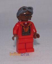 Lego Personalizado Negro Naboo Rojo Piloto Star Wars Minifigura Nuevo cus257