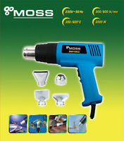 HOT AIR HEAT GUN 2000W WALL PAPER PAINT STRIPPER +TOOLS