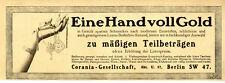 Corania-Gesellschaft Berlin Konsum-Artikel Versandhandel & Ratenzahlung von 1913