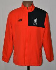 Formazione Liverpool Elite Giacca Antipioggia precisione Top Grigio Da Uomo Calcio sport