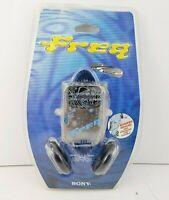 NEW SEALED Sony SRF-FQ9 Freq Portable 90's FM Stereo AM Radio w/ Headphones