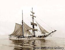 "Brigantine ""Curacao"" - circa 1910 - Historic Photo Print"