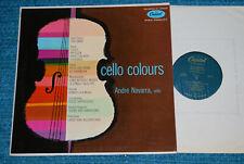ANDRE NAVARRA Cello Colours CAPITOL P 18023 LP BLUE LABEL NM LP