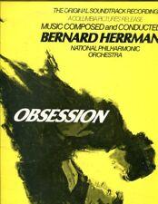 Obsession soundtrack Bernard Herrmann LP / London stere