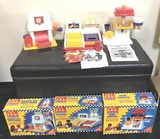 VTG 1993 McDonald French Fries,Pie and Drink Fountain Happy Meal Magic Markers