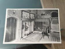 Black and White Postcard Inn Kitchen Blanchland 138