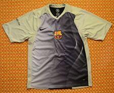 FC Barcelona, Gray Leisure Football Shirt by Nike 90, Mens Small, 173