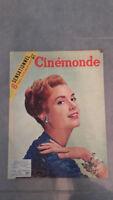 Ciné Monde - N°1120 - Giovedì 26 Gennaio 1956 - Brigitte Bardot