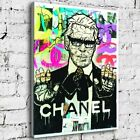 """32x24"""" Alec Monopoly """"Karl Lagerfeld"""" New HD print on canvas rolled up print"""