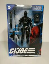 "Hasbro GI JOE CLASSIFIED SNAKE EYES VARIANT New Deco 6"" Action Figure Repaint"