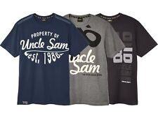 Uncle Sam Herren T-Shirt M L XL XXl Sportshirt Shirt Hemd Kurzarm Fitness Sport