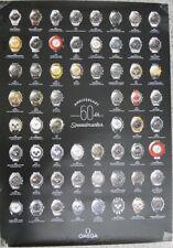 Omega Speedmaster 60th Anniversary Uhren-Poster Uhren-Plakat ca. 85 x 60 cm
