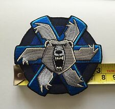 Battletech Clan Ghost Bear Insignia Patch - new revision!