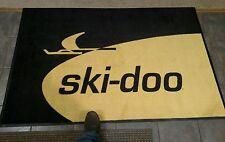 Ski-Doo Snowmobile 4x6' Vintage Retro logo door mat TNT blizzard RV elan