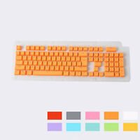 104 PBT Backlit Double-shot Keycaps Fit for Mechanical Cherry MX Switch Keyboard