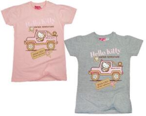 Hello Kitty T-Shirt  92 98 104 110 116 122 128 134 Mädchen kurzarm Shirt Sommer
