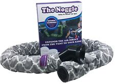 Noggle Extend Your Air Conditioning or Heat to Your Kids - 6ft Grey Quatrefoil