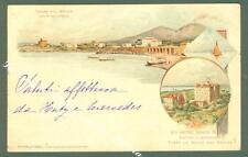 Campania. TORRE DEL GRECO, Napoli. Cartolina d'epoca viaggiata nel 1902.