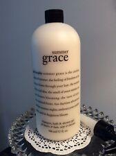 Philosophy SUMMER GRACE Shampoo, Bath & Shower Gel 32 fl oz/ 946 mL With Pump