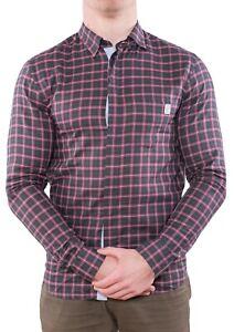 Frankie Morello Men's Shirt Size M Slim Fit