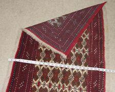 Afghanistan Hand Made Bokhara Turkmen Kuchi Oriental Antique Rug Carpet Pillow