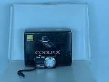 Nikon COOLPIX S220 Digital Camera - Graphite black