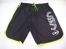 Vision Pantaloncino Beach Tennis Uomo Nero Profilato Giallo 18 Tg L