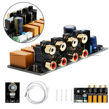 Audio Input Signal Selector Relay Board/Signal Switching Amplifier Board+RCA DIY