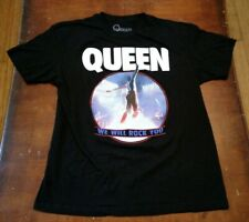 Queen We Will Rock You Band Shirt Large Freddy Mercury