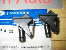 2 Ford F150 F250 F350 F450 Bronco Windshield Wiper Washer Fluid Nozzle OEM New