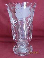 Waterford Crystal Large Limited Edition Swan Lake Vase