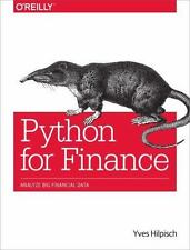 Python for Finance: Analyze Big Financial Data, Hilpisch, Yves, Very Good Book