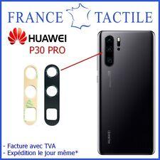 Lentille en Verre avec Adhésif pour Caméra Arrière Appareil Photo Huawei P30 PRO