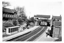 bb0001 - Backworth Railway Station , Northumberland in 1970 - photograph
