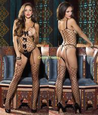 Hot Women's Lingerie Fishnet Body Stockings Mesh Underwear Babydoll Sleepwear