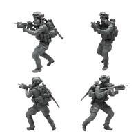 1/35 Resin Figure Soldier Model Kits Black Skeleton Navy New Seals J6S1