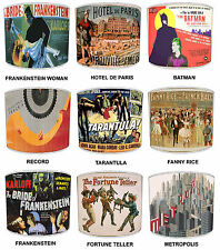 More details for lampshades ideal to match vintage horror hero wall decals & posters cushions