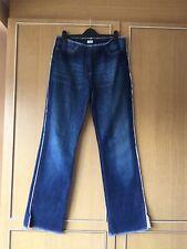 "Oasis Straight Leg Jeans Size 12L 33"" leg"
