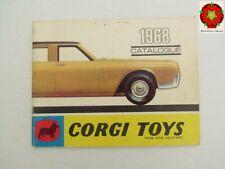 Corgi Toys Catalogue late 1968 FRANCE edition **RARE**