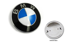 BMW 82MM Roundel HOOD OR TRUNK EMBLEM LOGO BADGE ORNAMENT - 51148132375