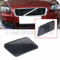 Primed Front Bumper Right Driver Headlight Washer Cover For VOLVO C30 2008-2010