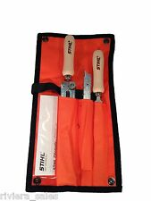 "Motosierra Stihl sharpening/filing Kit. 4mm 5/32 ""de archivos. 5605 007 1027"