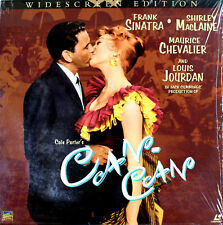 CAN CAN Frank Sinatra Shirley MacLaine LASERDISC  NTSC