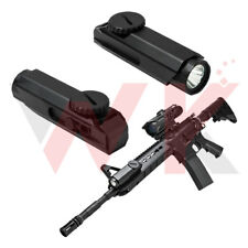 Tactical KeyMod Rail Mount Flashlight 3 Watt CREE LED 200 Lumens Remote Switch