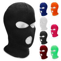 3 Hole Full Face Warm Cover Ski Winter Cap Balaclava Outdoor Beanie Tactical Hat