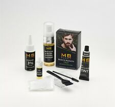 Professional Quality-COLOR TINTING Dye KIT for Beard & Mustache With Keratin-USA