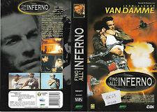 FINO ALL'INFERNO (1999) vhs ex noleggio